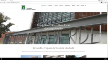 website - Vila Verde e Barbudo